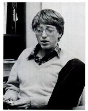 Bill Gates 1982