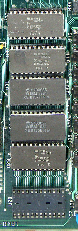 BIOS del IBM PC