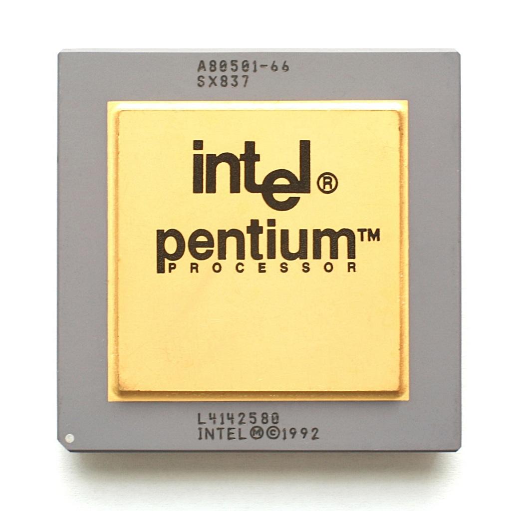 Procesador Intel Pentium