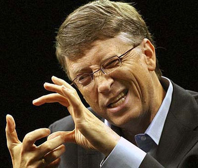 Diabólico Bill Gates
