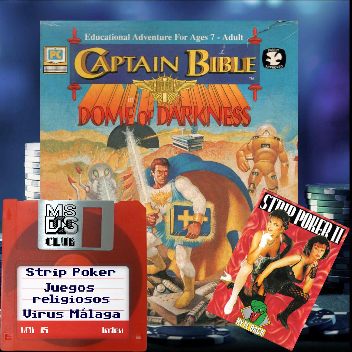MS-DOS CLUB – Vol 15 – Strip Poker y juegos cristianos para DOS